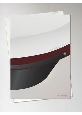 ViSSEVASSE - Kort - Studenterhuen Kort - Rød