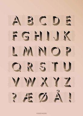 ViSSEVASSE - Poster - ABC Poster - Rosa