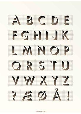 ViSSEVASSE - Poster - ABC Poster - Creme
