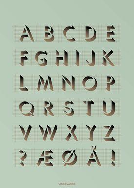ViSSEVASSE - Poster - ABC Poster - Mint