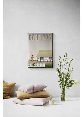 ViSSEVASSE - Poster - DANMARK Bondehuset - plakat - Bondehuset