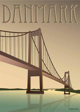 ViSSEVASSE - Poster - Danmark - Lillebæltsbroen - Lillebæltsbroen