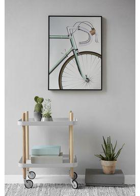 ViSSEVASSE - Poster - Racing Bicycle - 14,8 X 21 cm (A5)