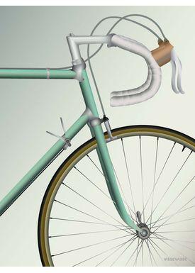 ViSSEVASSE - Poster - Racing Bicycle - 30 X 40 cm
