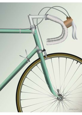 ViSSEVASSE - Poster - Racing Bicycle - 70 X 100 cm