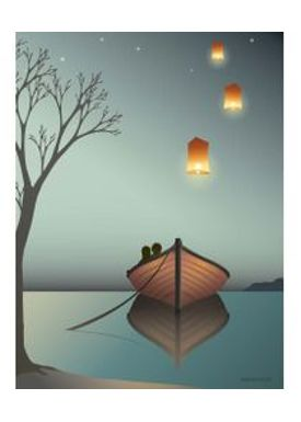 ViSSEVASSE - Poster - The Lanterns - Lanterns