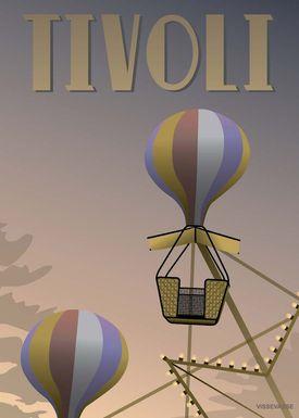 ViSSEVASSE - Poster - Tivoli - Ballongyngerne - Ballongyngerne