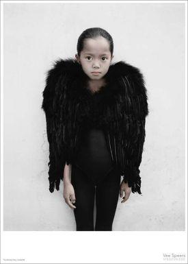 ViSSEVASSE - Poster - Vee Speers - The Birthday Party Series - The girl in black / Untitled #3