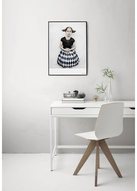 ViSSEVASSE - Poster - Vee Speers - The Birthday Party Series - The girl in harlequin / Untitled #5