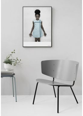 ViSSEVASSE - Poster - Vee Speers - The Birthday Party Series - The girl with the blue dress / Untitled #19
