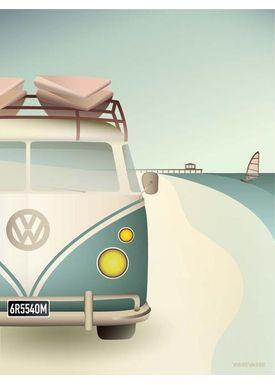 ViSSEVASSE - Poster - VW Camper - VW Camper