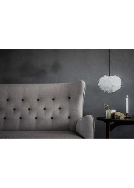 Vita Copenhagen - Lampeskærm - Eos Fjerlampe - Hvid Medium