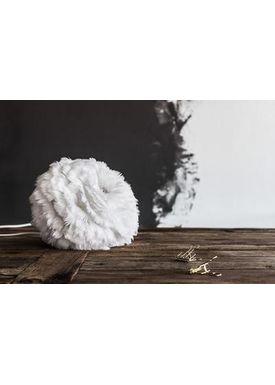 Vita Copenhagen - Lampshade - Eos Feather lamp - White Micro