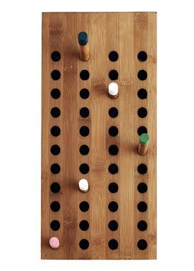 WeDoWood - Knager - Scoreboard knagerække - Lille Vatical - Bambus