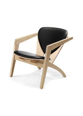Wegner - Lounge Chair - Temp - Butterfly-chair - Brown