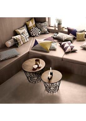 Ferm Living - Basket - Wire Basket - Medium - Black
