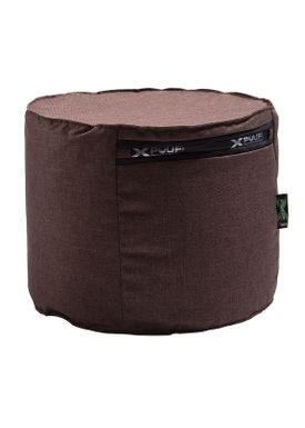 X-POUF - Puf - X Cylinder PU Coated - Brown