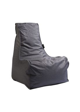 X-POUF - Bean Bag - X-CHAIR Pu Coated - Dark Grey