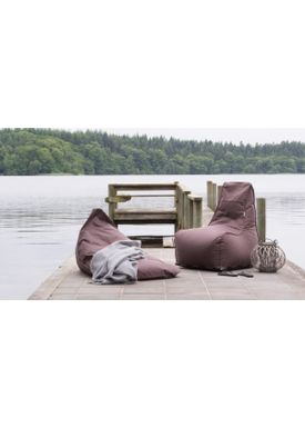 X-POUF - Bean Bag - X Chair PVB - Brown