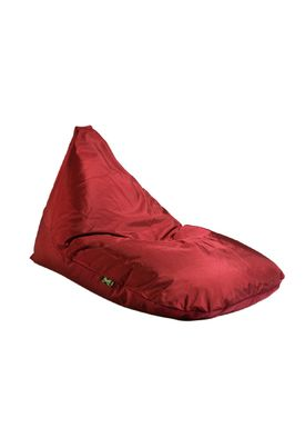 X-POUF - Bean Bag - X Triangle PVB - Bordeaux