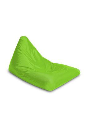 X-POUF - Bean Bag - X Triangle PVB - Green