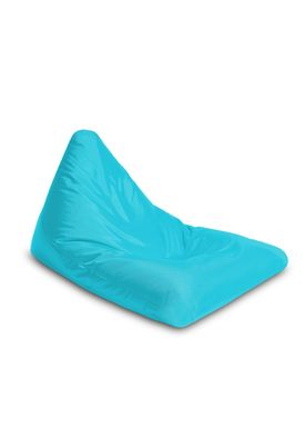 X-POUF - Bean Bag - X Triangle PVB - Turkis
