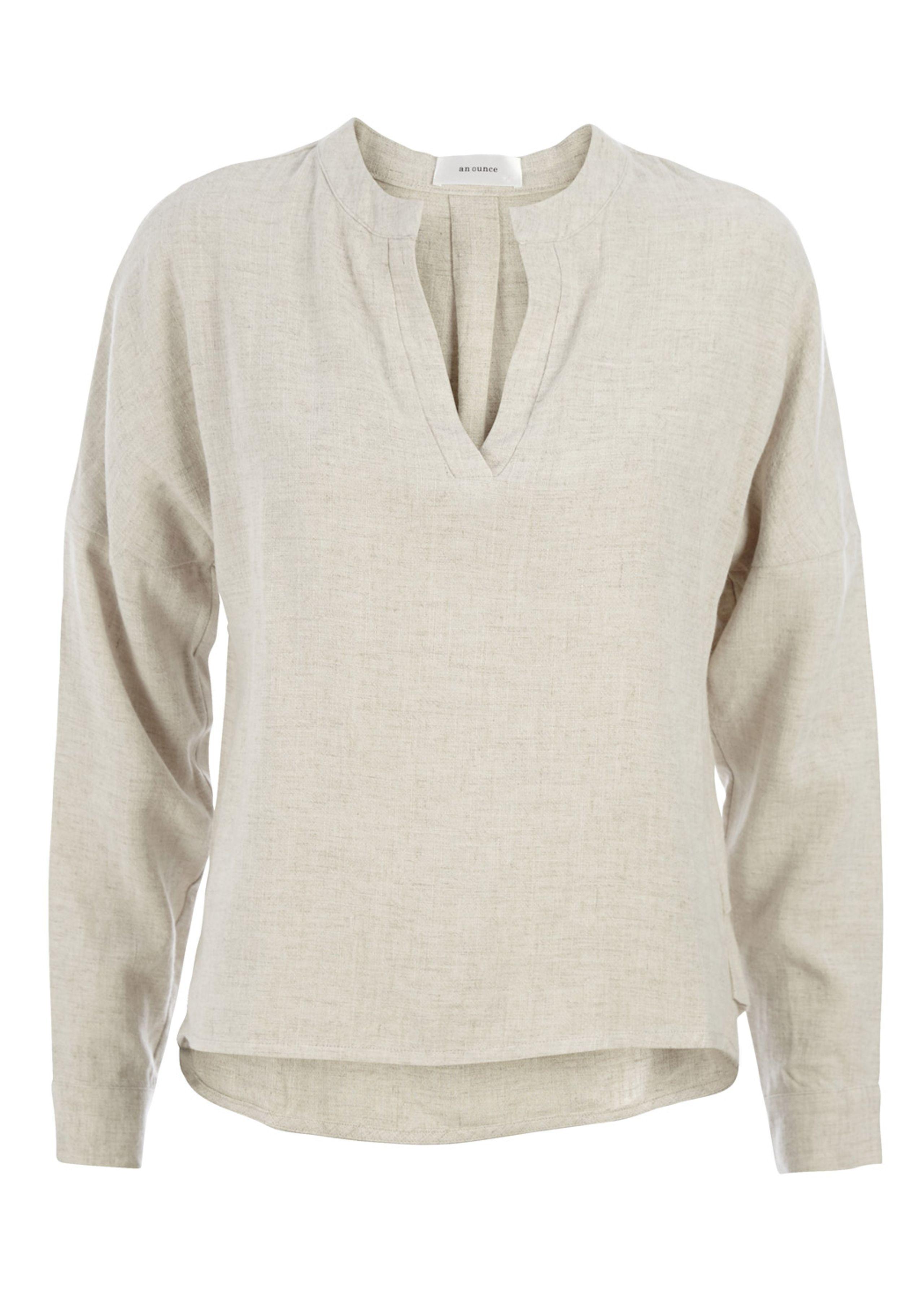 Cassie linen blouse