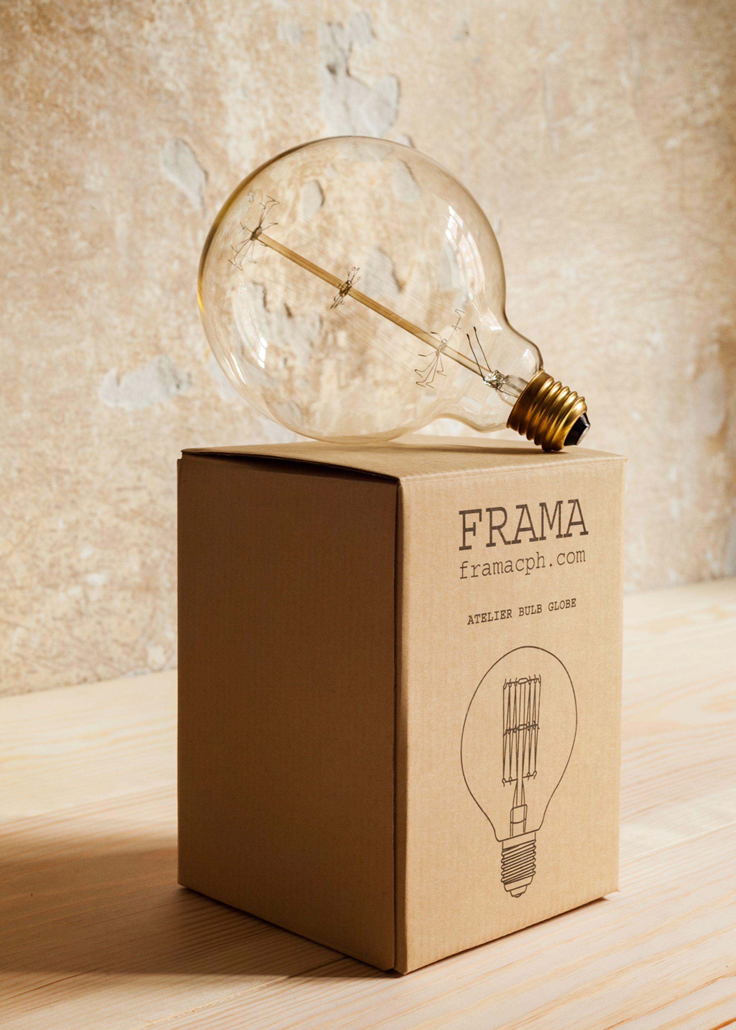 Atelier bulb globe