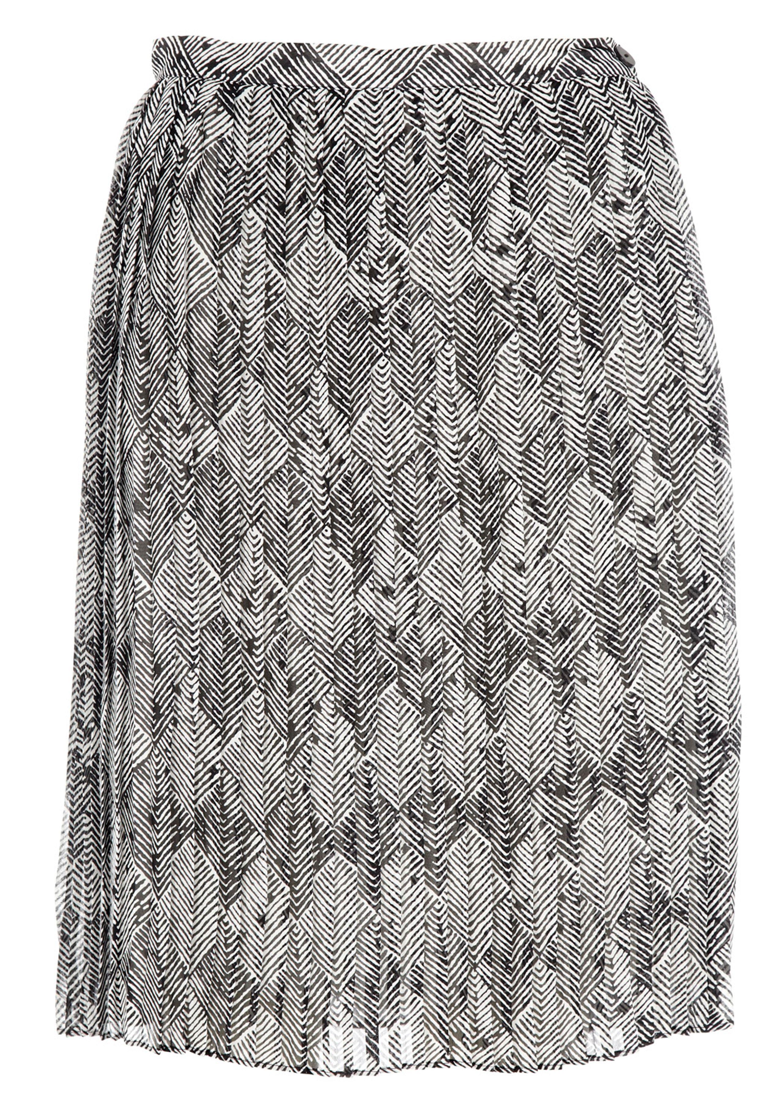 Sidse print skirt
