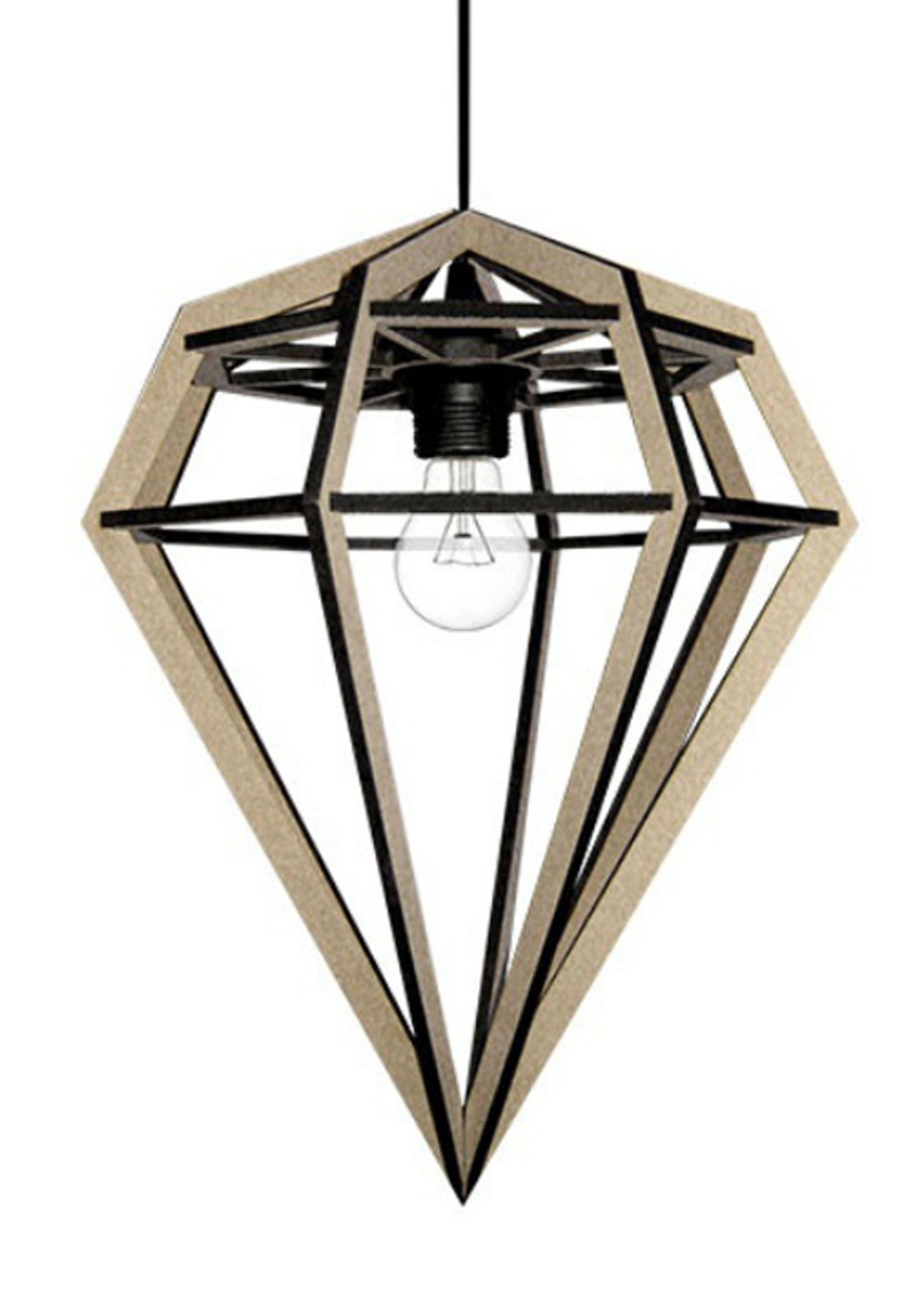 Döden lampe - medium