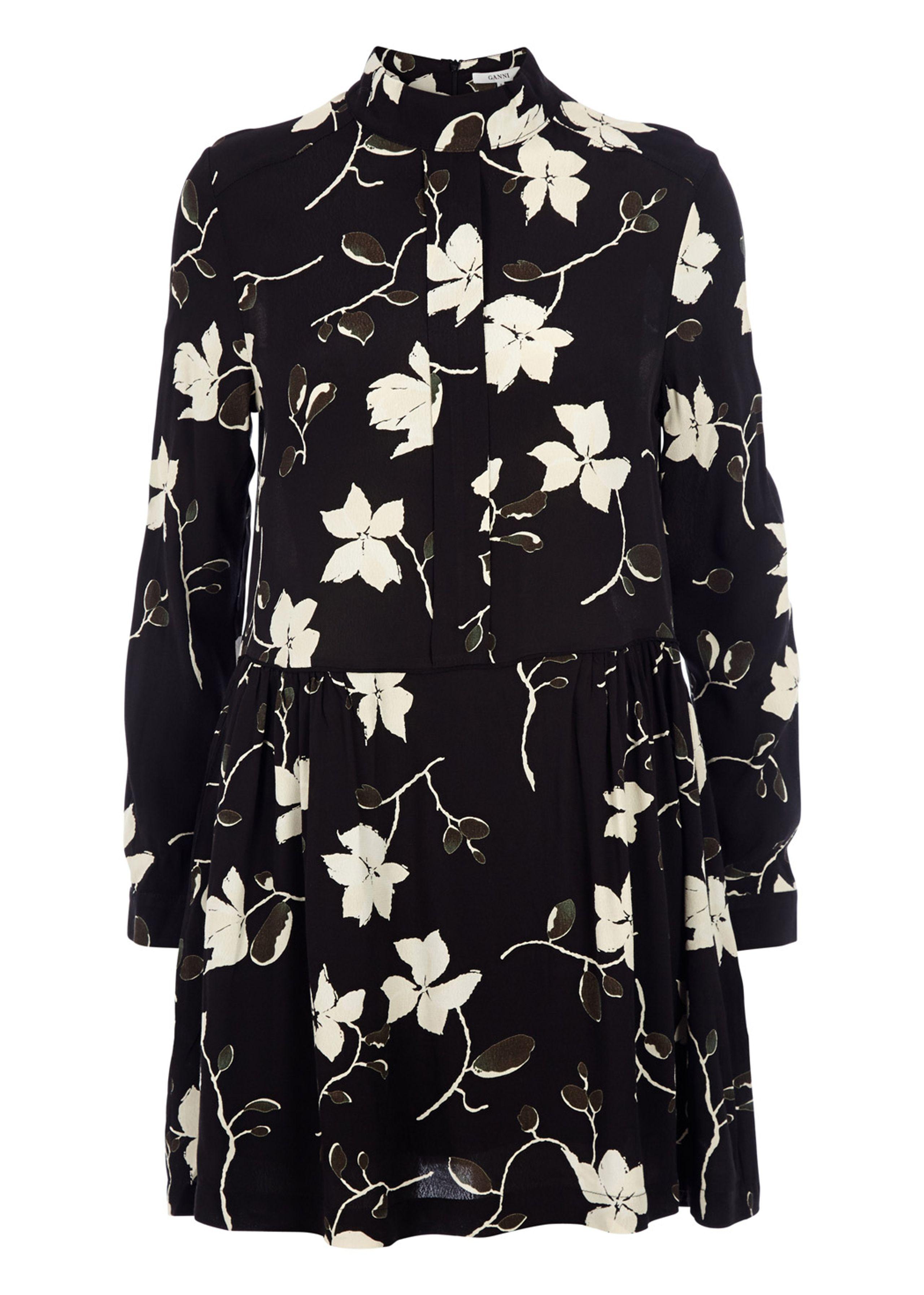 Rosemont pleat dress
