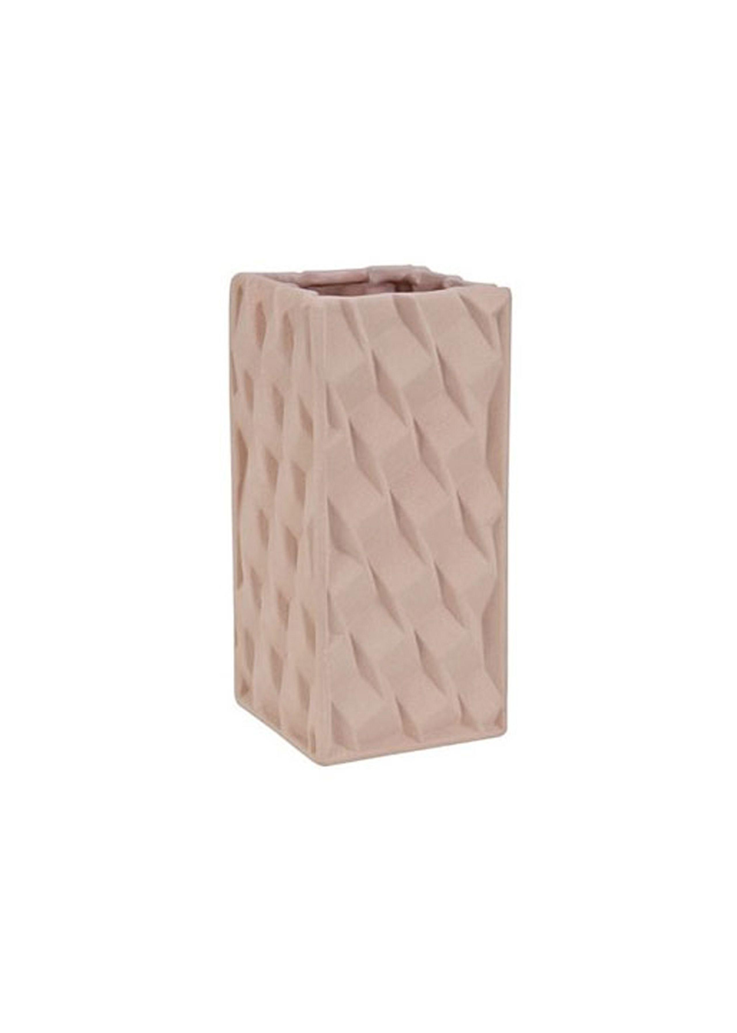 Grid vase - small