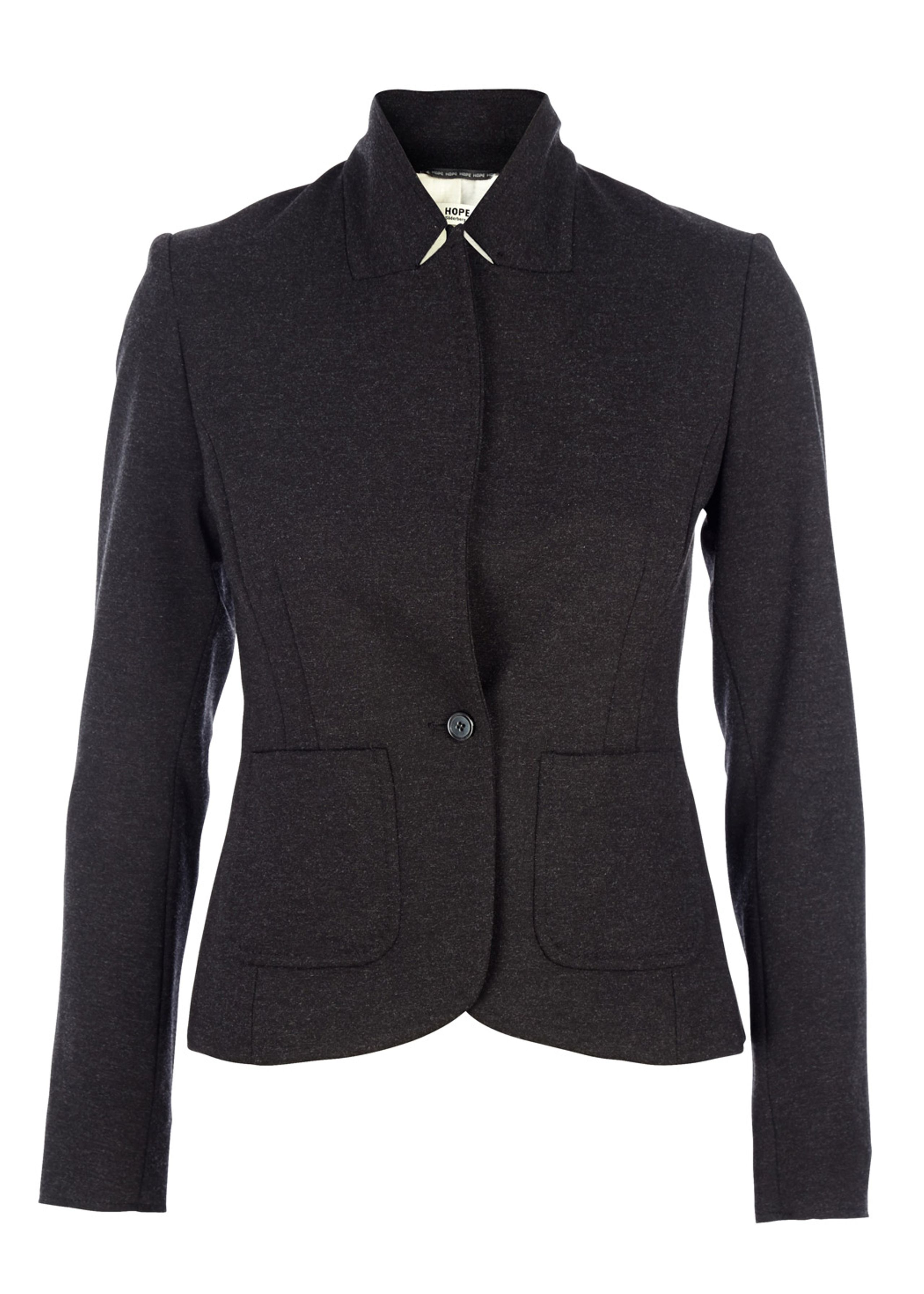 Judge knit blazer