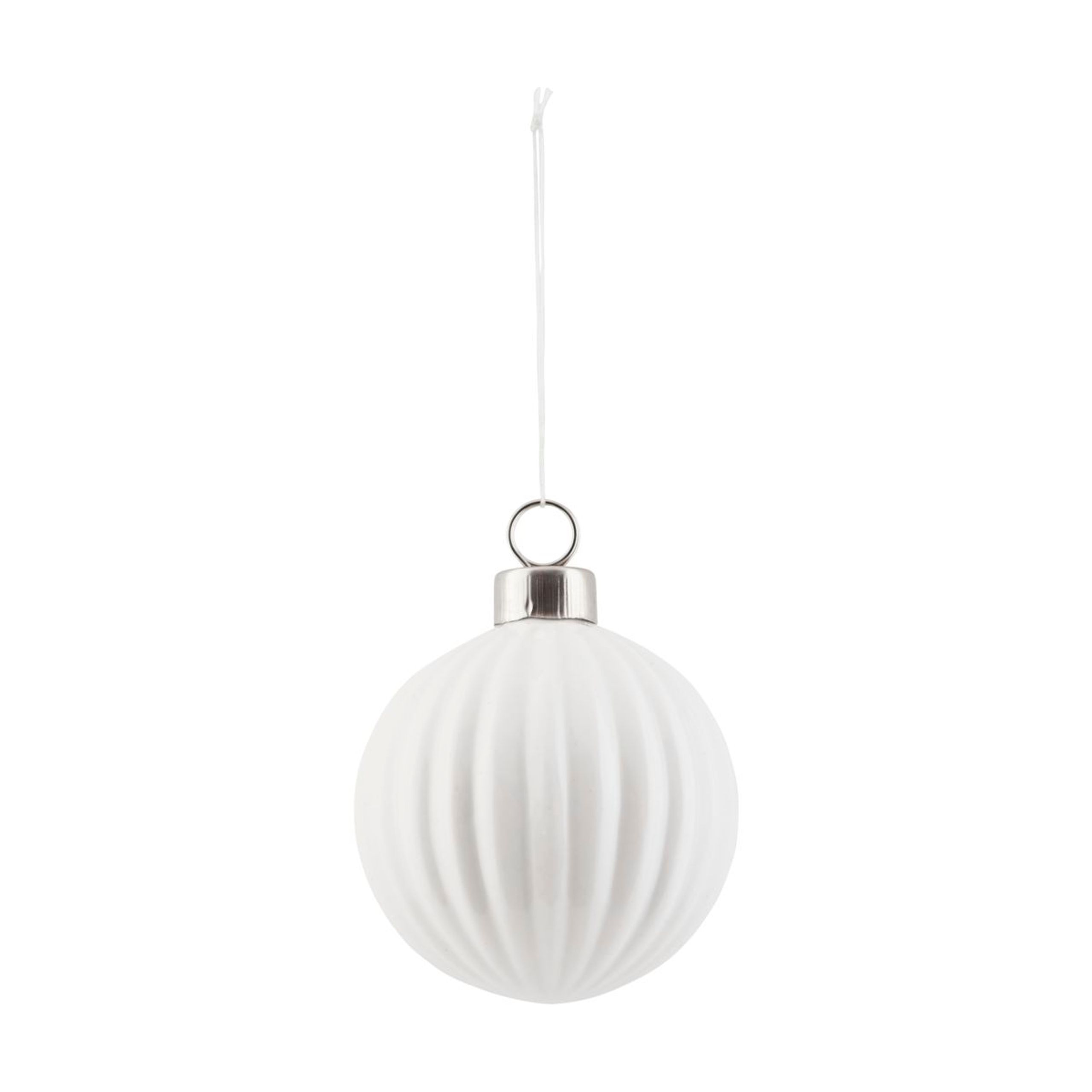 Pleated christmas ball