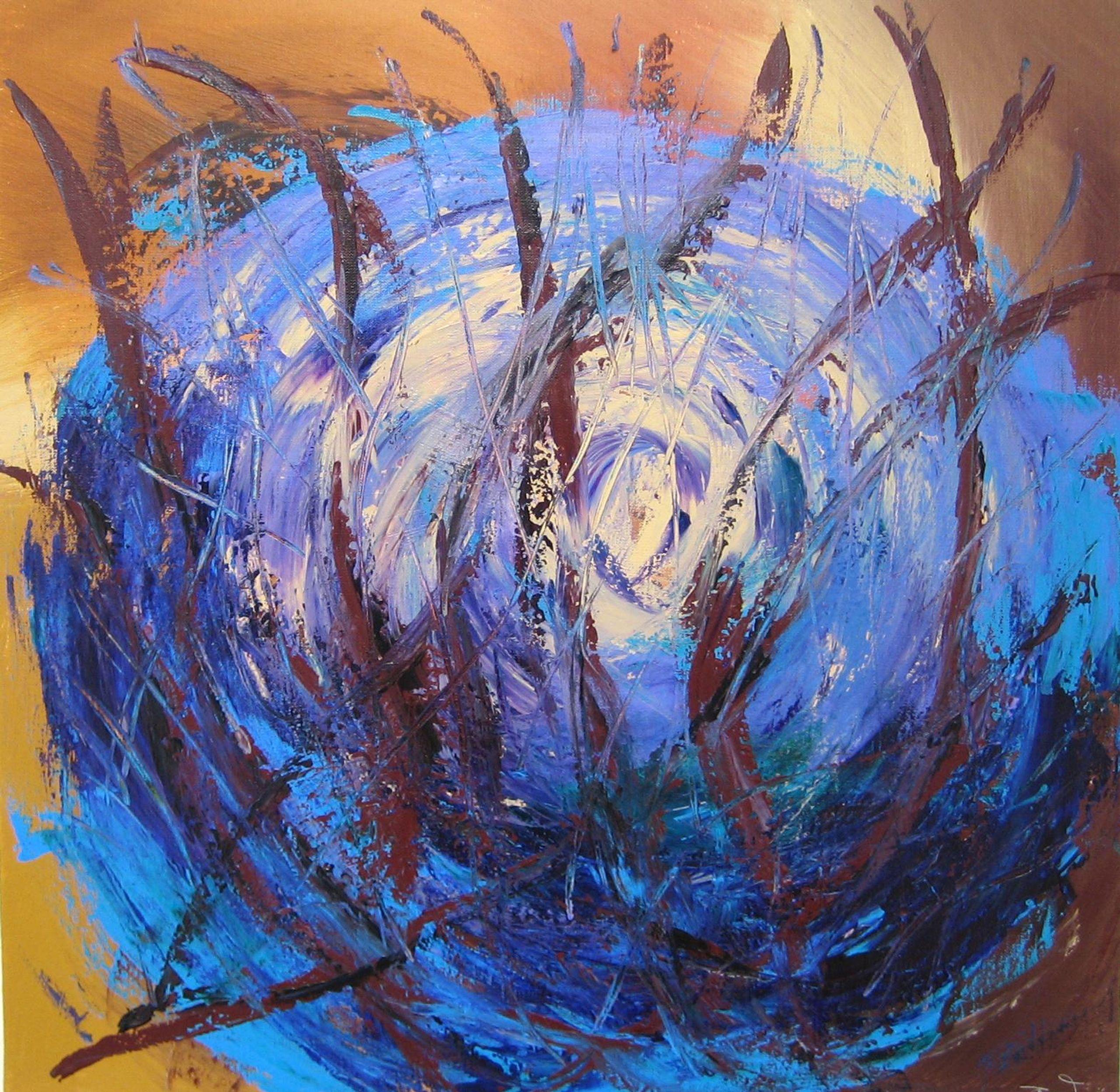 Blue buttercup
