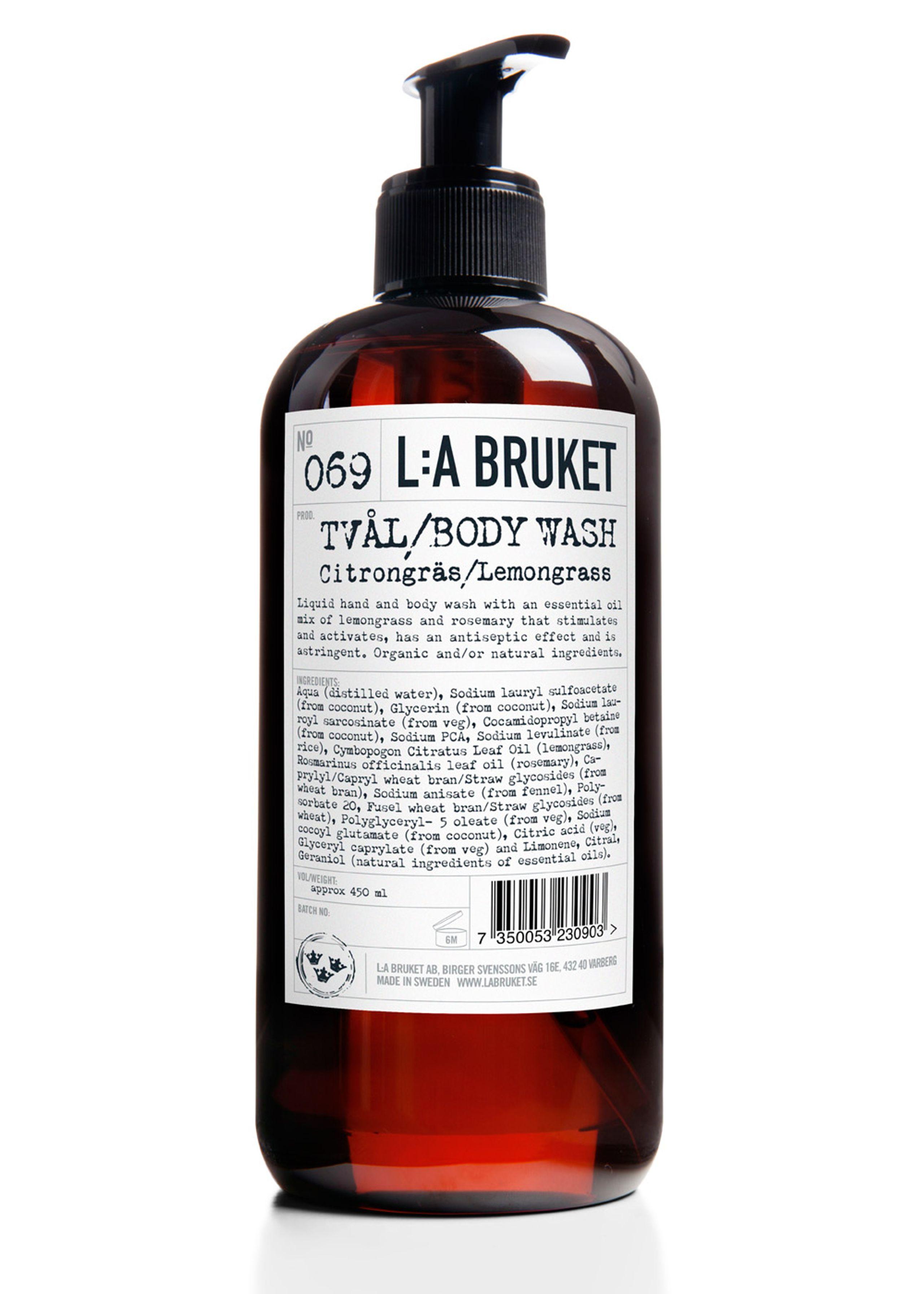 No. 69 liquid soap lemongrass