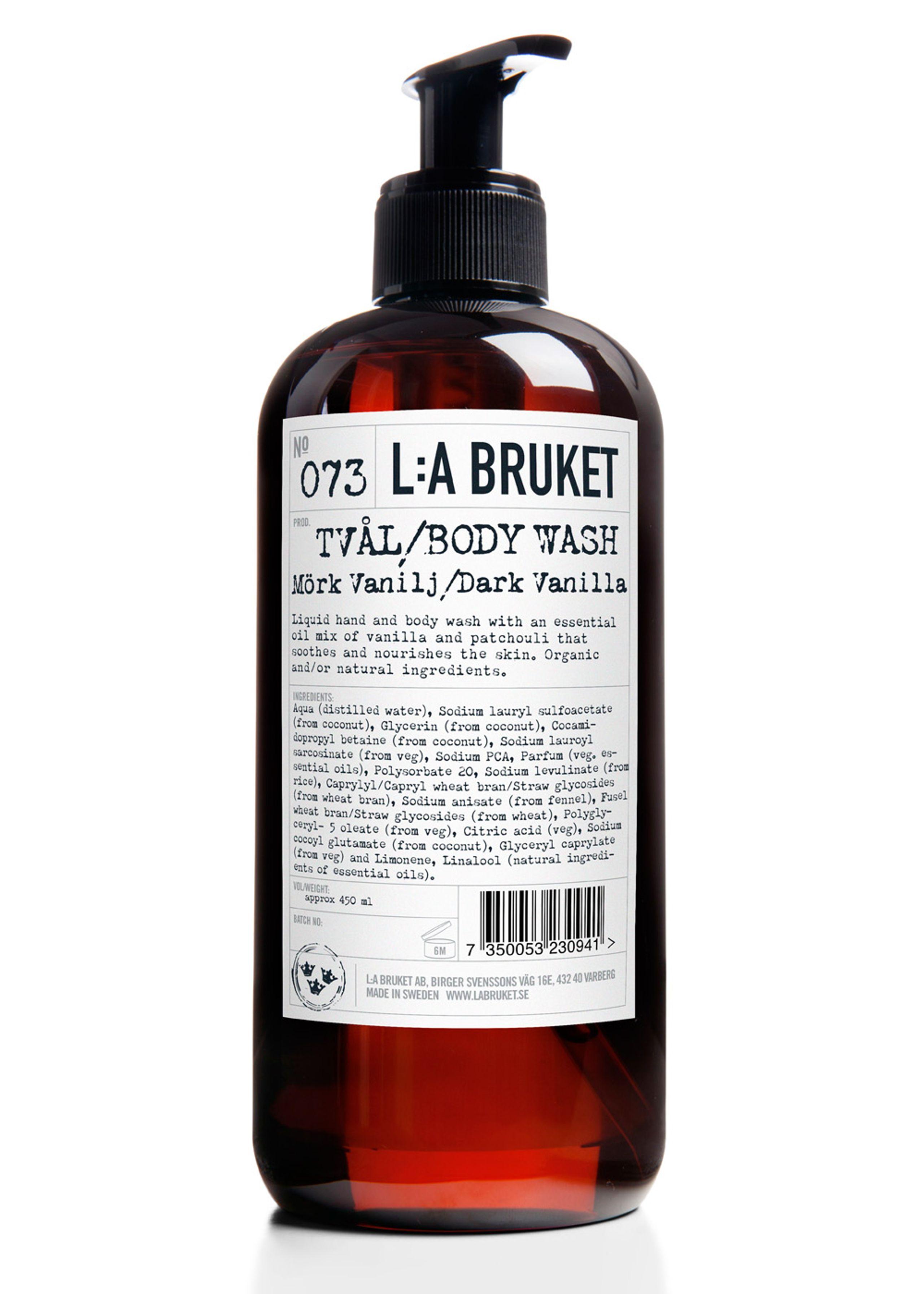 No. 73 liquid soap dark vanilla