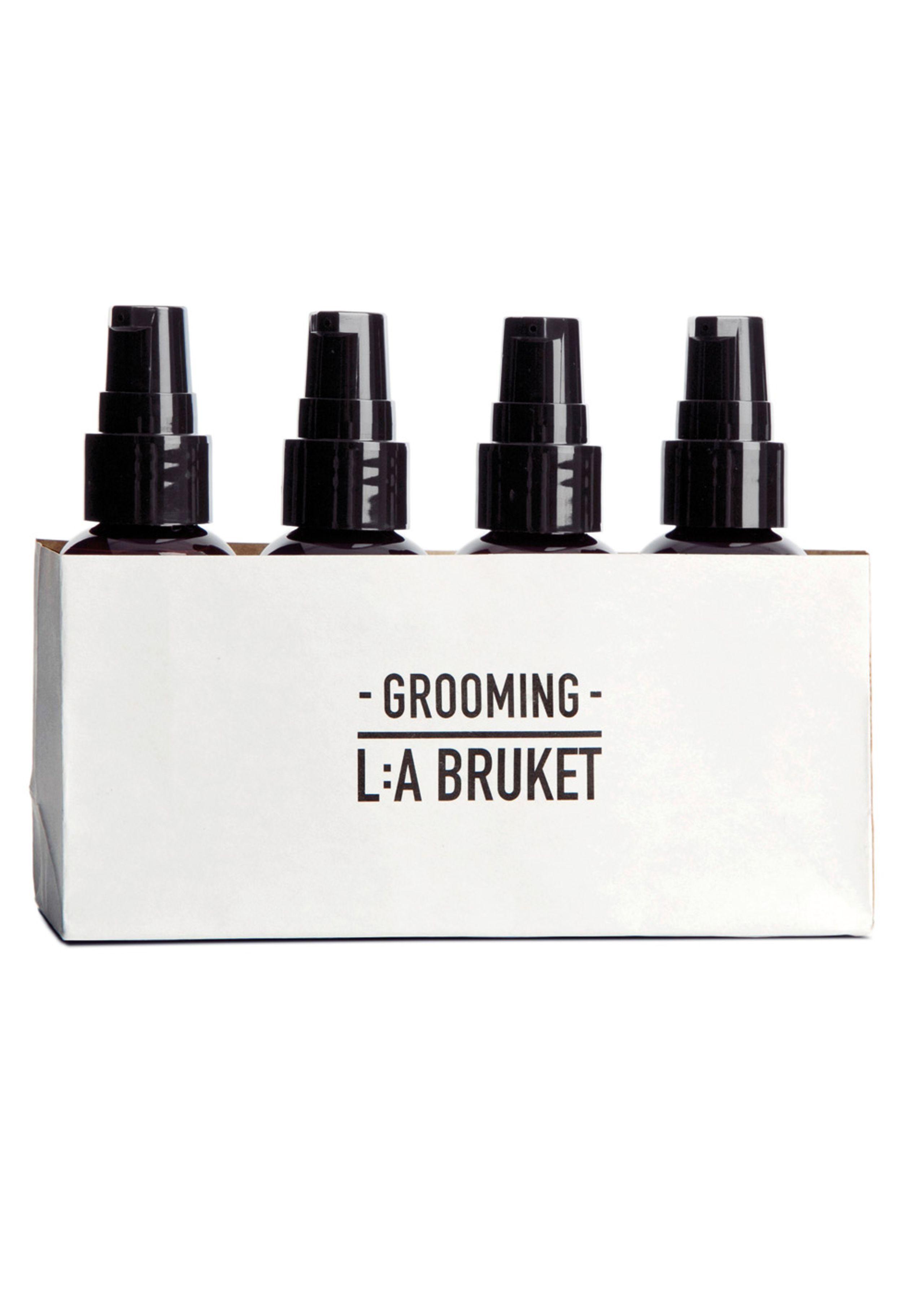 Mens grooming kit - 4 x 60 ml