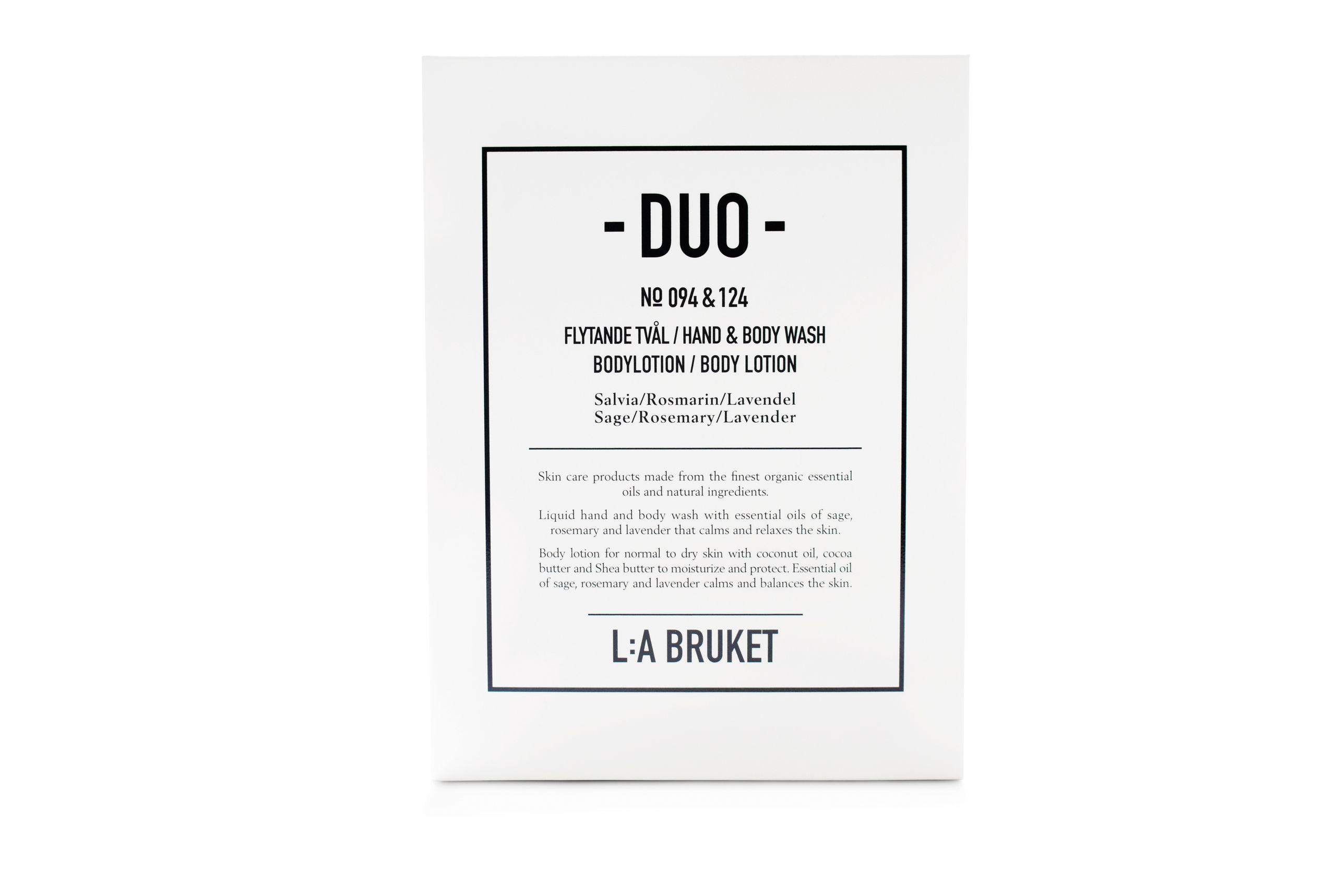 Duokit soap/bodylotion