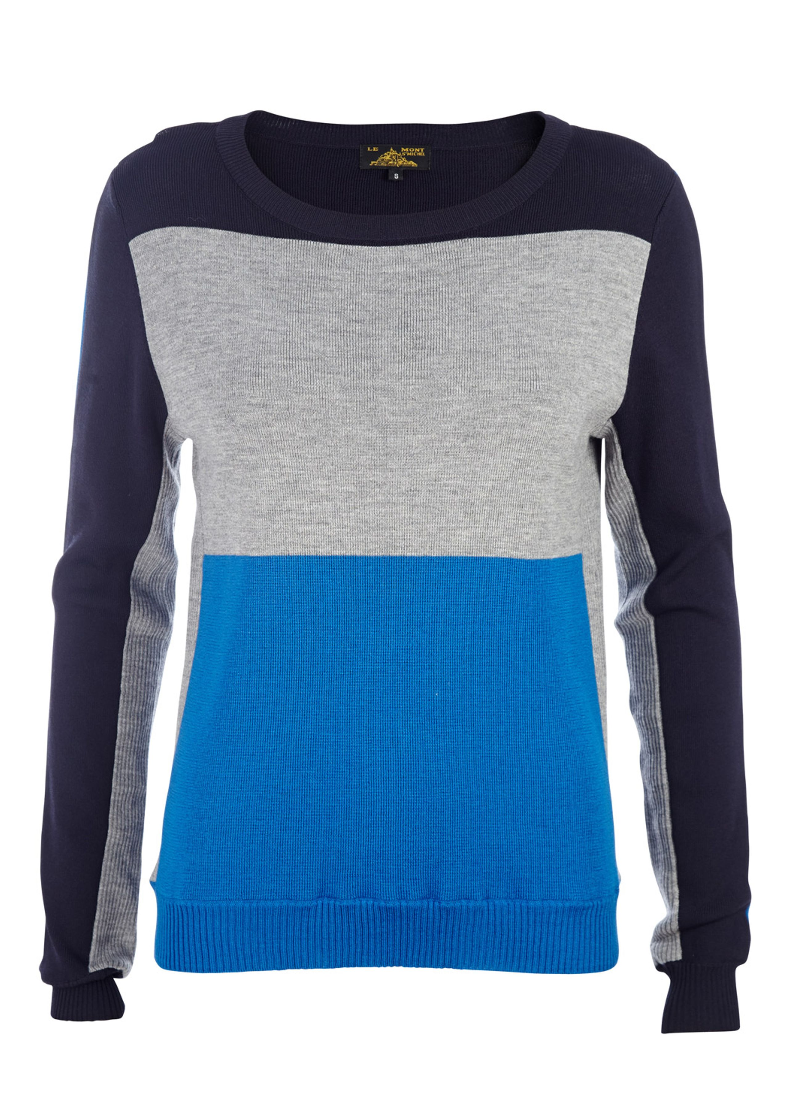 Color-block sweater