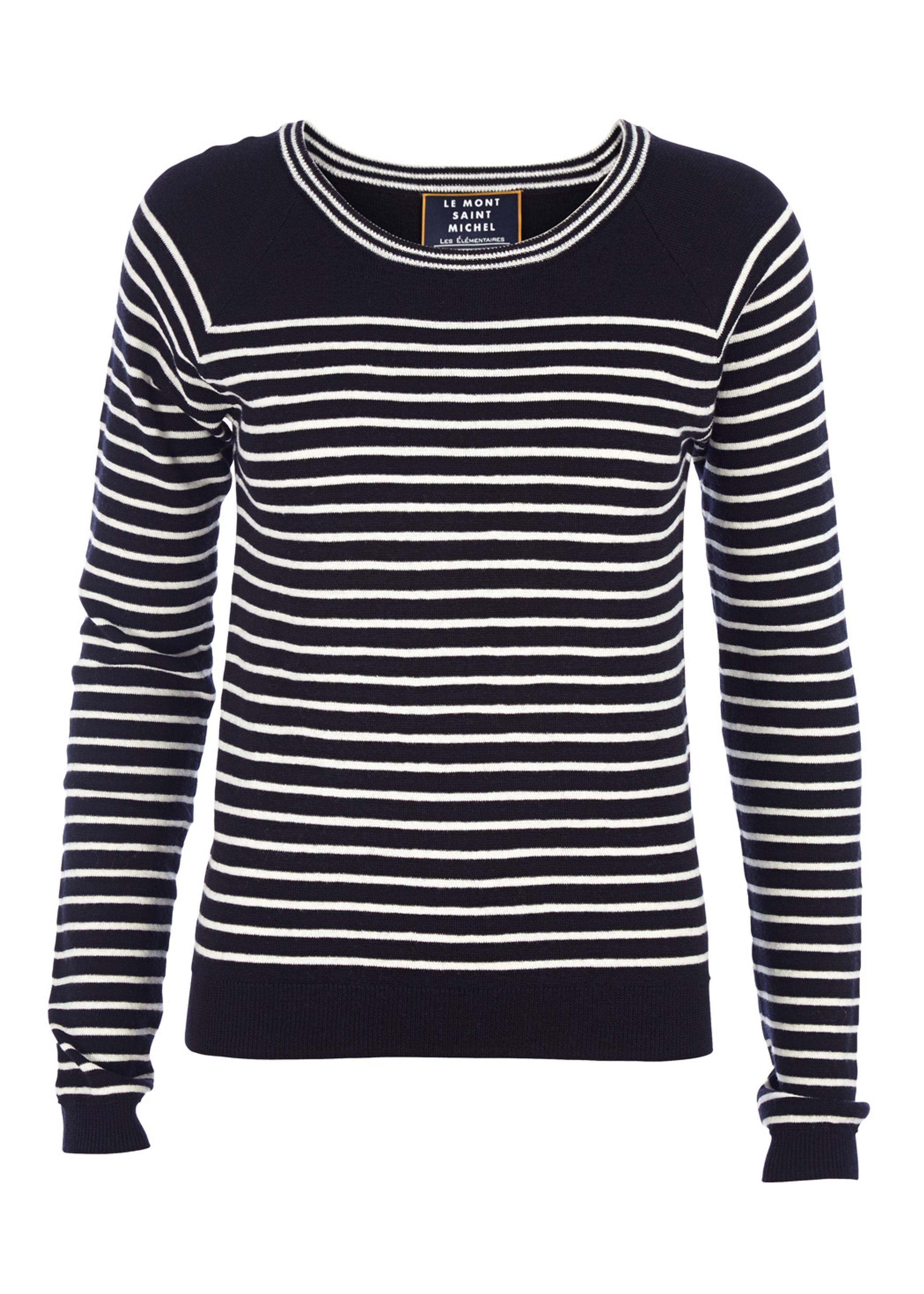 Pinstripe elã©mentire sweater