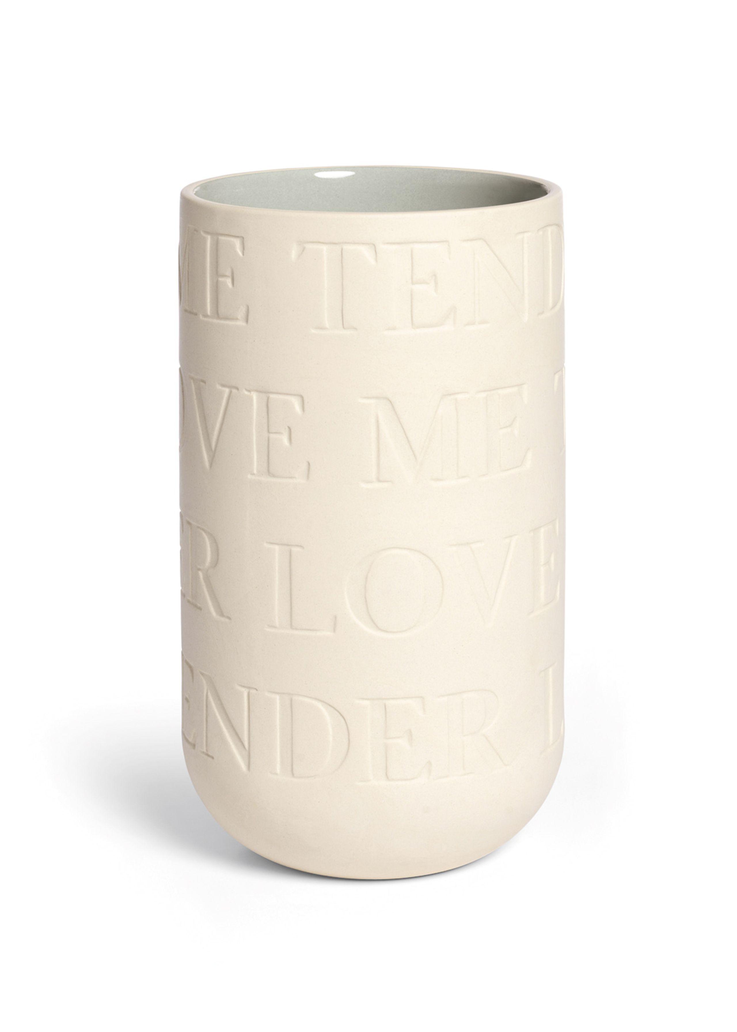Lovesong vase m. farve