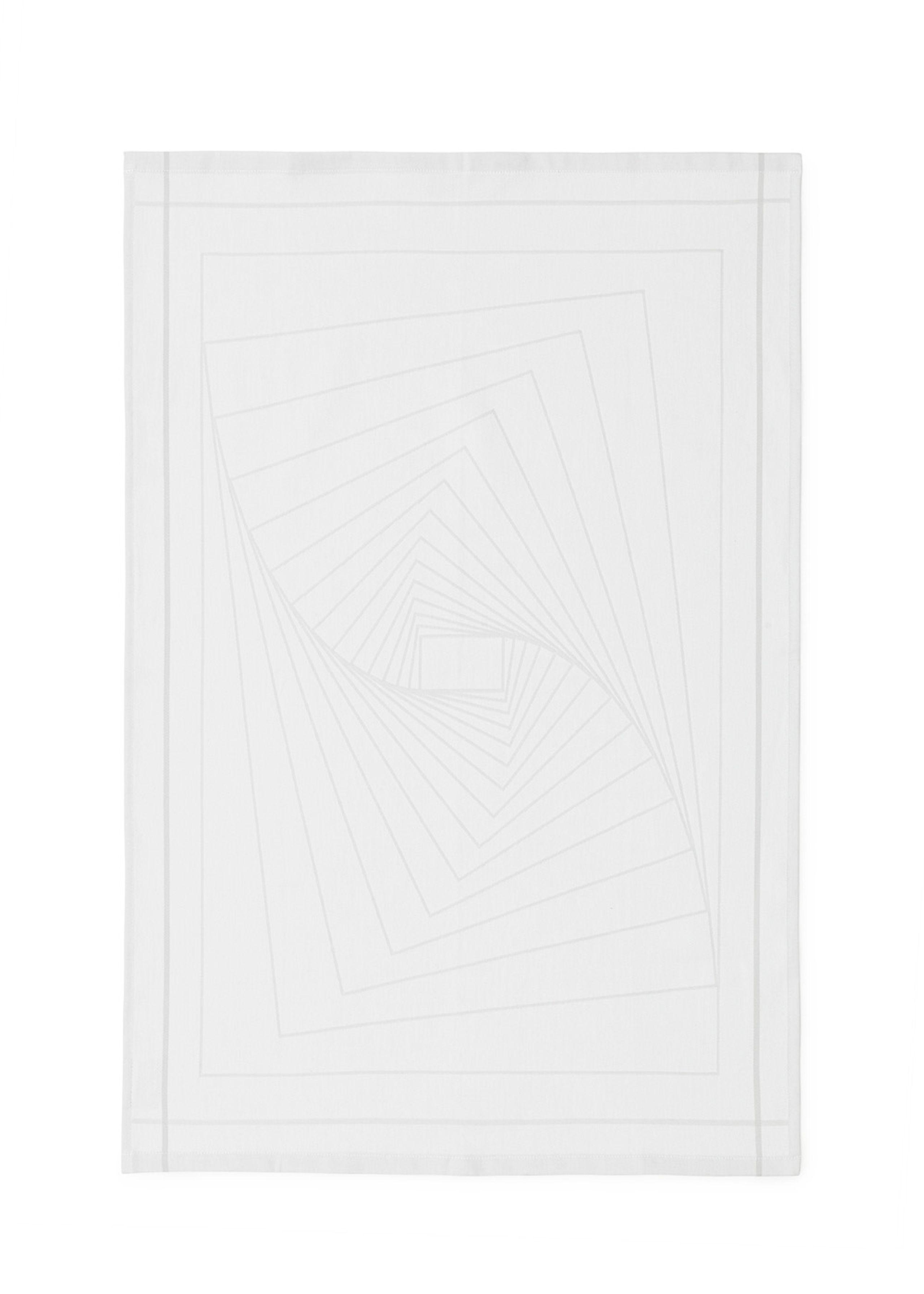 Illusion tea towel