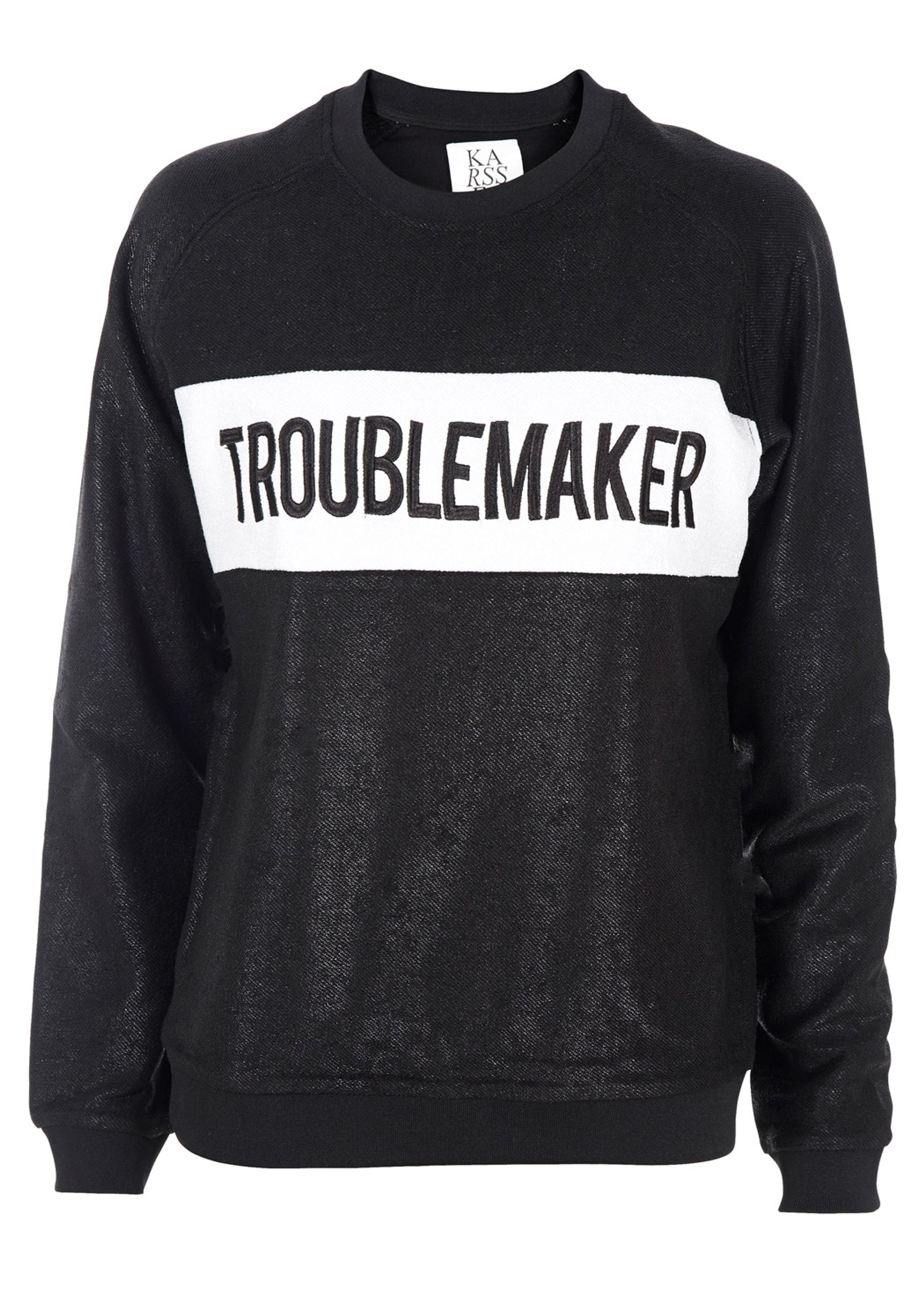 Loose fit raglan troublemaker