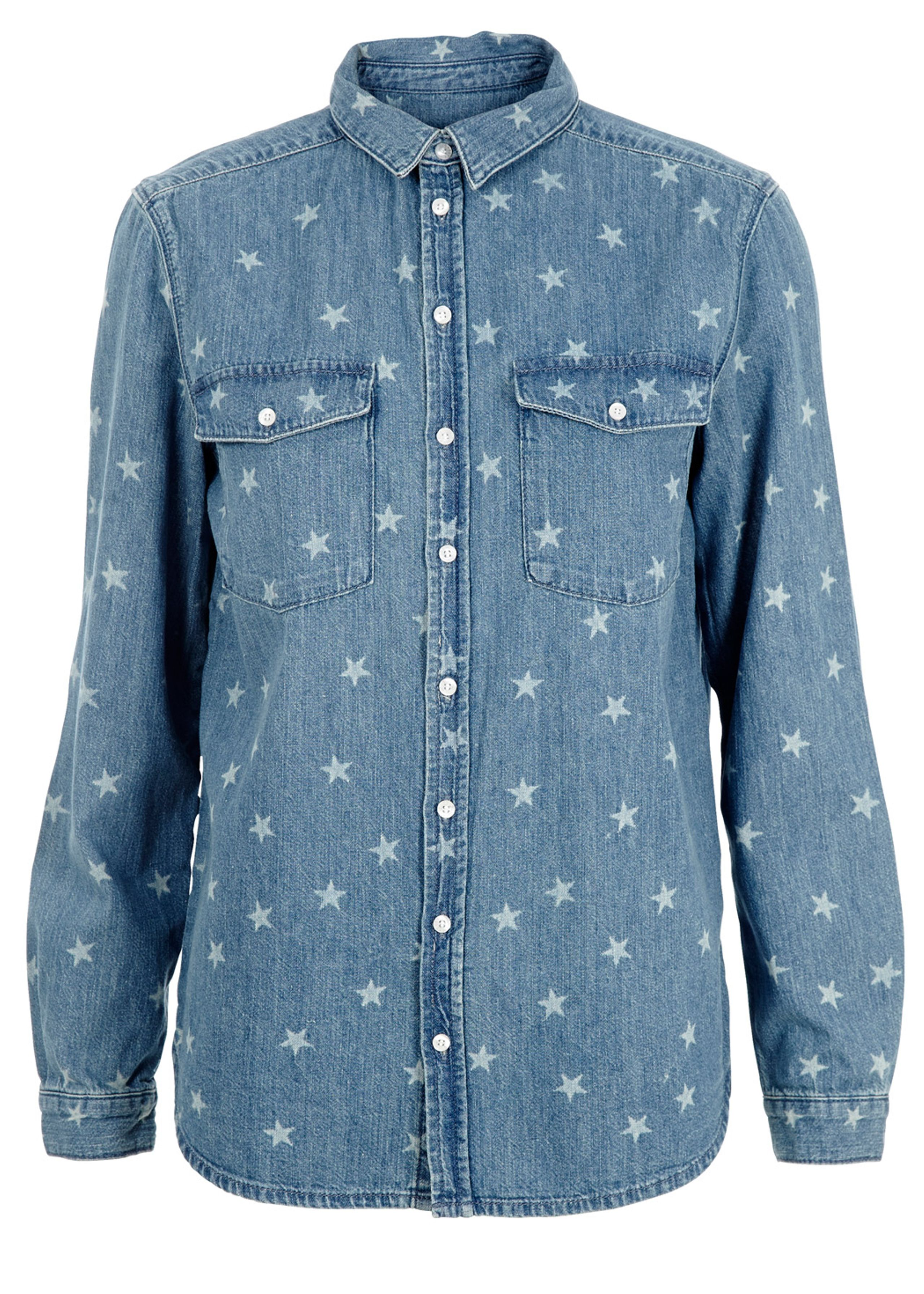 Classic shirt with stars
