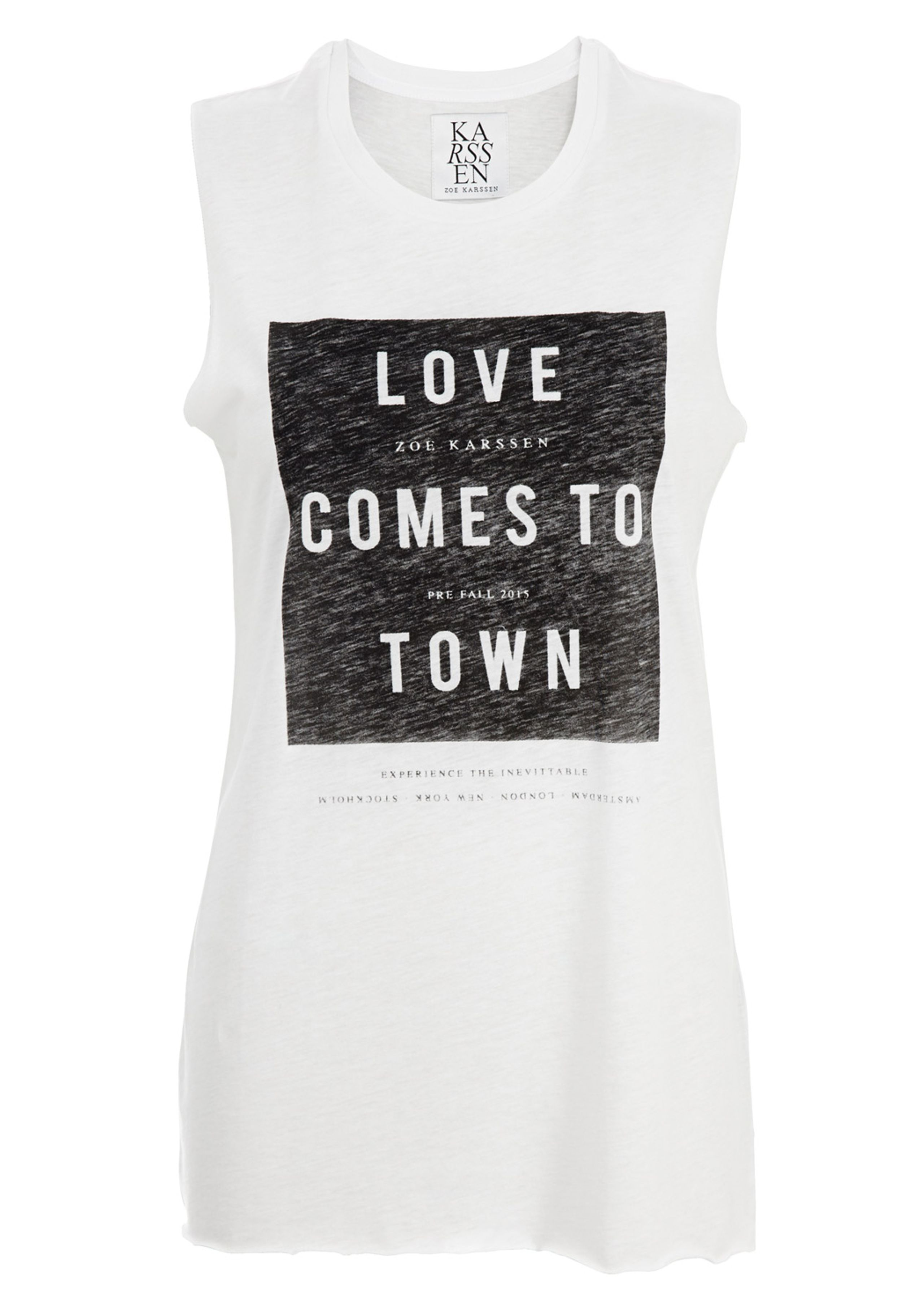 Loose fit muscle tank love comes to town