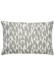 FUSS - Cushion - B1 Pude - Grå/Natur Hvid - Grey/ Nature White