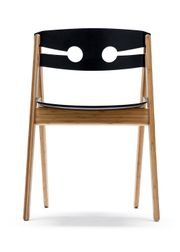 WeDoWood - Chair - Dining Chair no. 1 - Bamboo w. Black