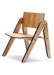WeDoWood - Chair - Lilly's Chair  - Bamboo w. Black