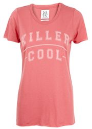 Zoe Karssen - T-shirt - Loose Oversize Fit Killer Cool - Rød